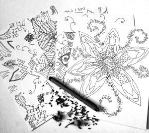 coloringpagebotanicalmedley