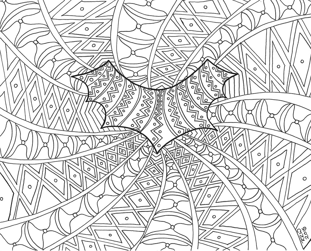 Free coloring pages of lifestyle for Fine art coloring pages