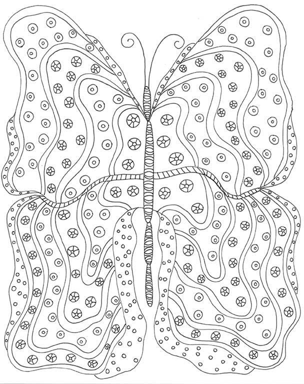 butterflycoloringpagelowdpi