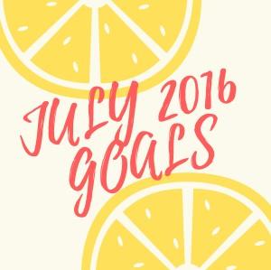 July 2016 Goals